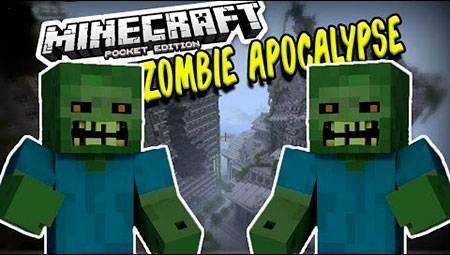 Мод Zombie Apocalypse для Minecraft PE
