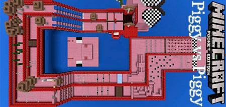 Карта Piggy vs Piggy для Minecraft PE