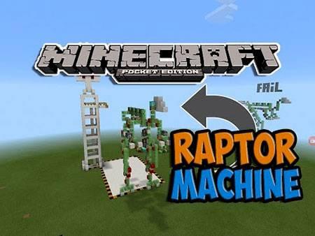 Карта Raptor Machine для Minecraft PE