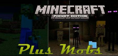 Мод Plus Mobs для Minecraft PE