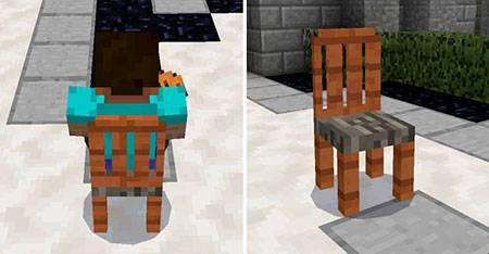 More Chairs mcpe 3