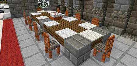 More Chairs mcpe 6