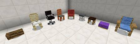 More Chairs mcpe 1