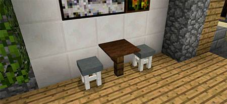 More Chairs mcpe 5