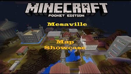 Карта Mesaville для Minecraft PE