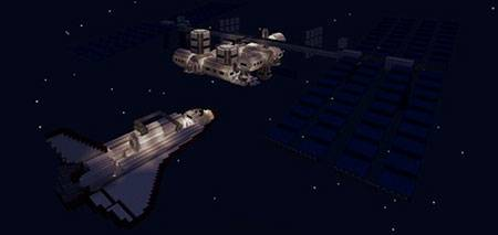 Spaceflight mcpe 2