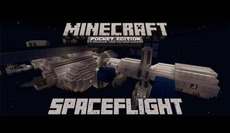Карта Spaceflight для Minecraft PE