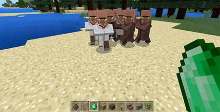 Move Villager mcpe 3