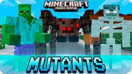 Мод Mutant Creatures для Minecraft PE