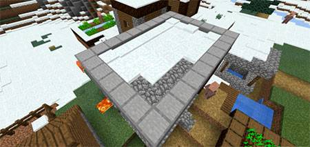 Winter Village mcpe 4