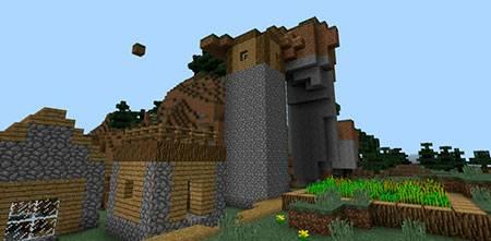 Weird Village mcpe 3
