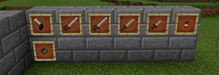 Hunter Weapons mcpe 1