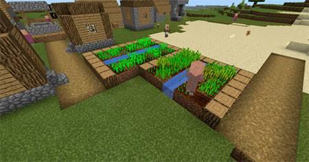 Glitched Village mcpe 3
