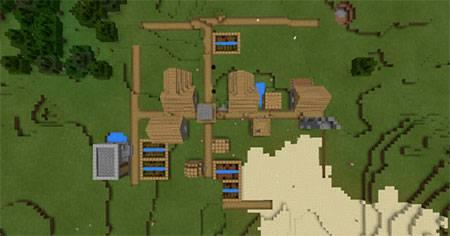 Glitched Village mcpe 2