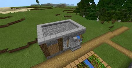 Glitched Village mcpe 5