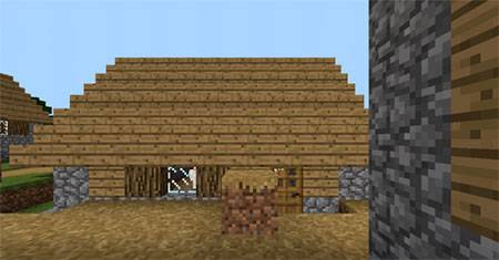 Glitched Village mcpe 1
