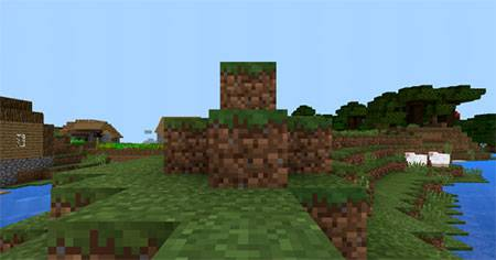 Mashed Triple Village mcpe 1