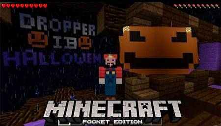 Карта Dropper IB Halloween для Minecraft PE