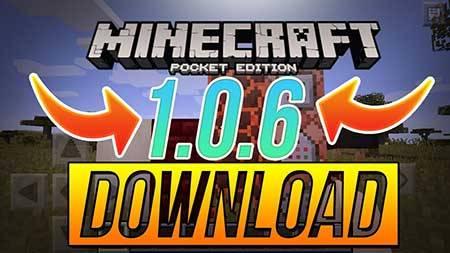 Minecraft PE 1.0 и 1.0.6