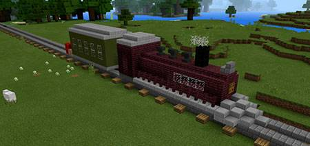 Command Block Train mcpe 3
