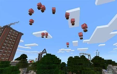 Hot Air Balloon mcpe 3