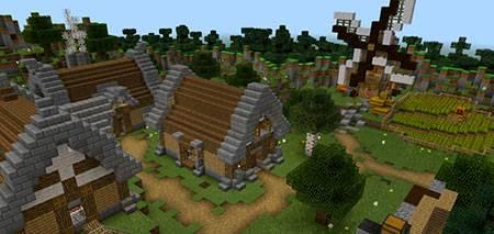 Murder Mystery Village mcpe 1