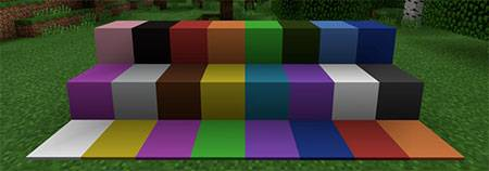 Plain Wool Colors mcpe 1