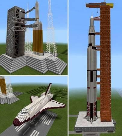 Spaceflight mcpe 1