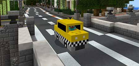 Mine-taxi mcpe 2