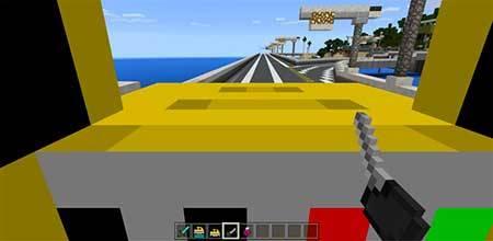 Mine-taxi mcpe 3