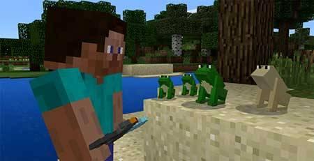 Mine-frog mcpe 2