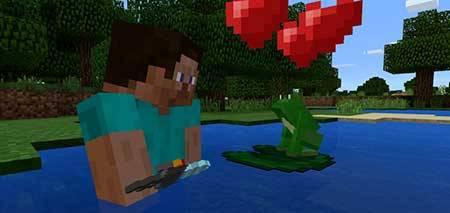 Mine-frog mcpe 1