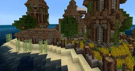 Beyond the Lands mcpe 1
