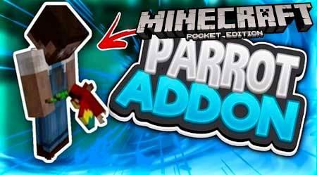 Мод Parrot для Minecraft PE