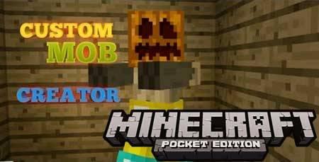 Карта Custom Mob Creator для Minecraft PE
