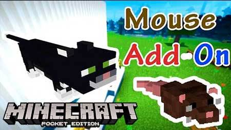 Мод Mouse для Minecraft PE