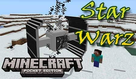 Мод Star Warz для Minecraft PE