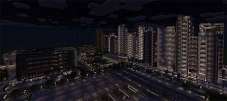 Карта NXUS Modern Architecture Series для Minecraft PE