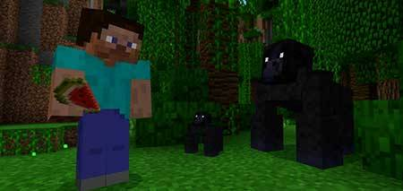 Gorillas mcpe 3