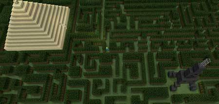 The Three Mazes mcpe 1