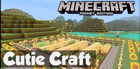 Текстуры CutieCraft для Minecraft PE