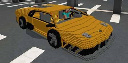 Lamborghini mcpe 1