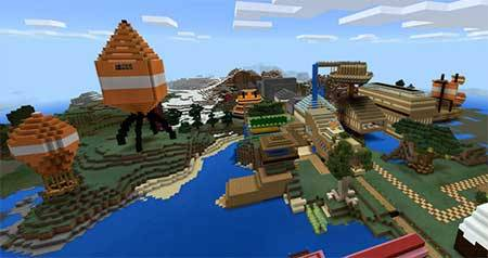 Stampy's Lovely World PE mcpe 1