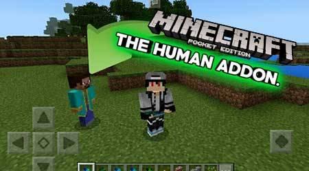 Мод The Human для Minecraft PE