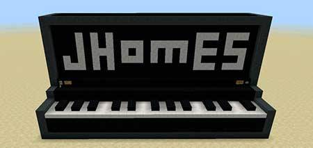 Working Giant Piano mcpe 1