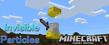 Текстуры Invisible Particles для Minecraft PE