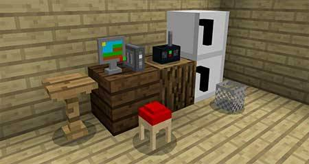 Mine-Furniture mcpe 2
