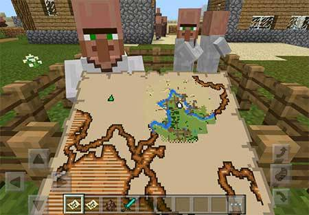 More Treasure Map mcpe 2