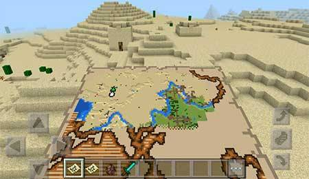 More Treasure Map mcpe 3