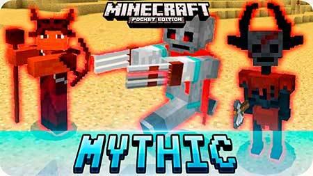 Мод Mythic Mobs для Minecraft PE